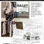 Hailey Apron - reversible apron pattern