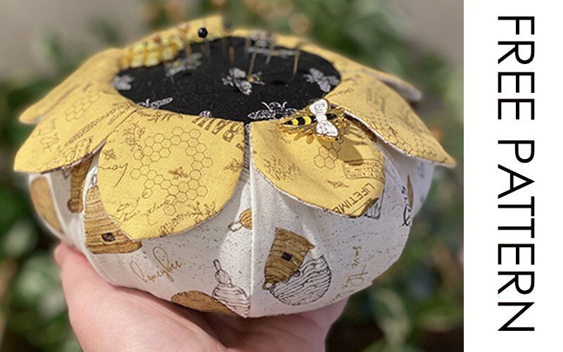 Who wants to make an oversized flower pincushion?