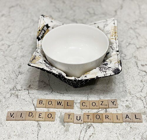 Video Tutorial: How to Make a Microwave Bowl Cozy