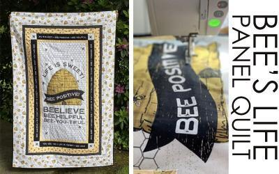 Bee's Life Panel Quilt – FREE PATTERN