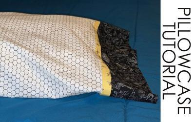 Making Pillowcases with Bee's Life Fabric