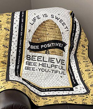Bees Life Quilt by Tara Reed