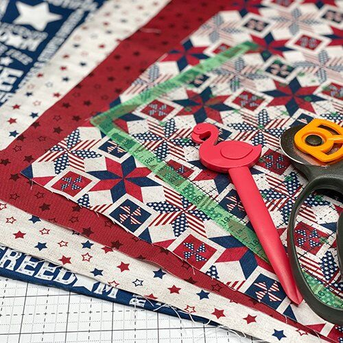materials to sew your own napkins