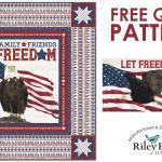 Let Freedom Soar quilt - Patriotic Fabric by Tara Reed for Riley Blake Designs
