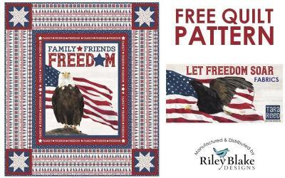 Free Patriotic Quilt Pattern: Let Freedom Soar