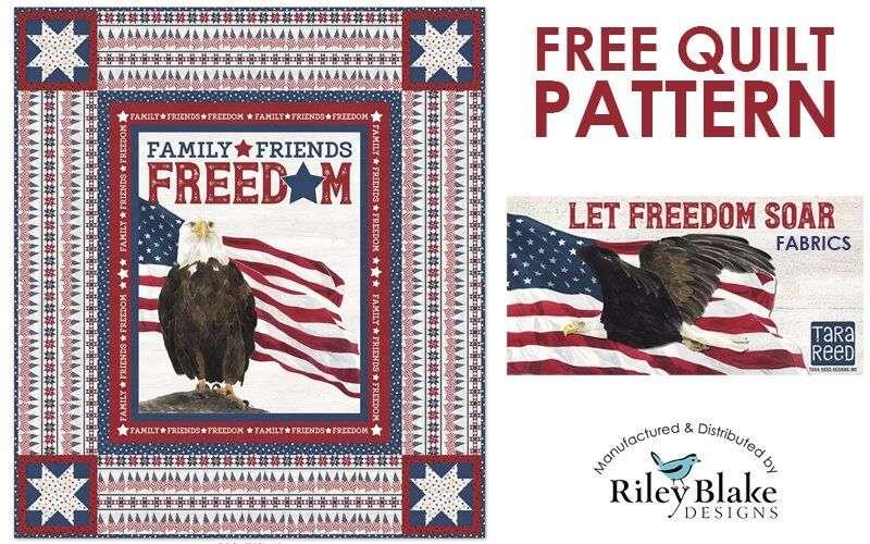 Free Patriotic Quilt Pattern: Let Freedom Soar