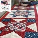 Free Tutorial: Patriotic Table Runner