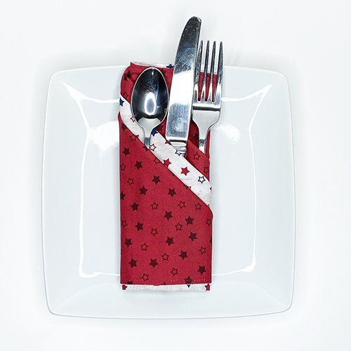 Triple French Pleat Napkin Folding Tutorial