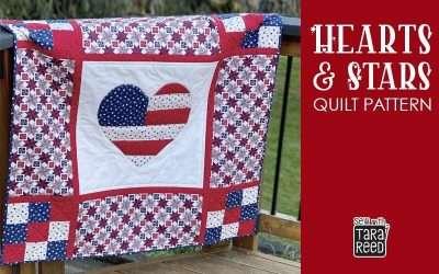 Hearts & Stars Quilt Pattern