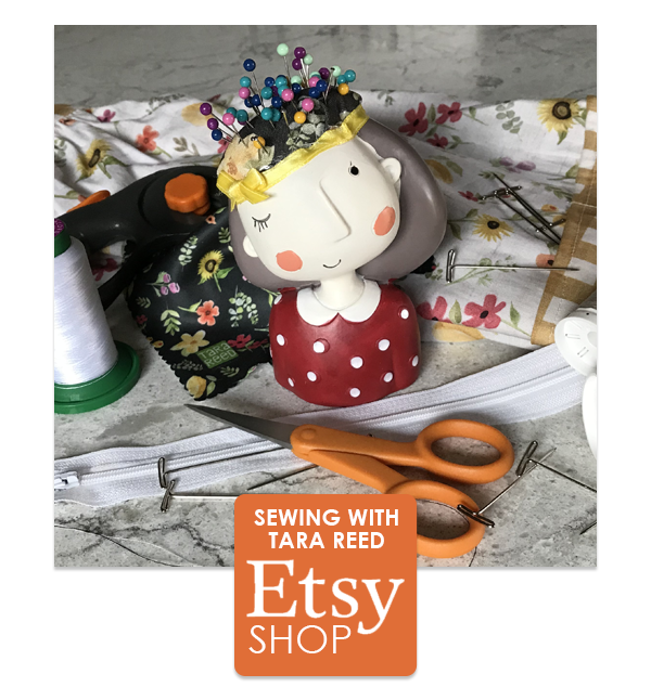 Sewing patterns and products on Etsy
