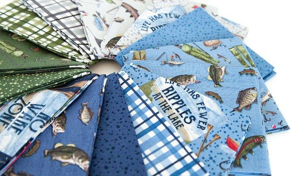 At the Lake fabric by Tara Reed for Riley Blake Designs