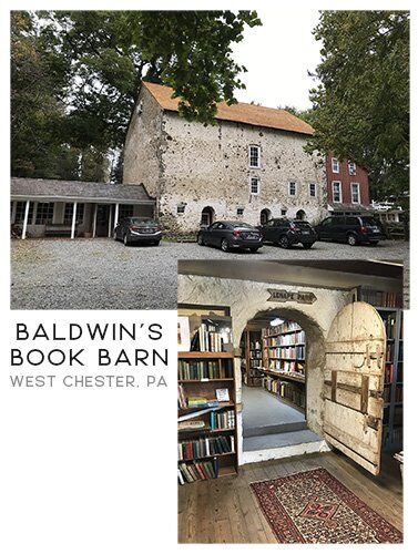 Baldwins Book Barn in West Chester, PA