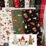 Gnome for Christmas Flannels by Tara Reed for Riley Blake Designs