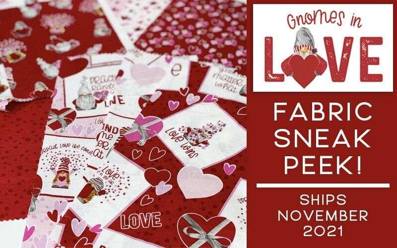 Gnomes in Love Fabric – Sneak Peek!