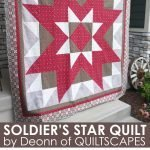 Soldier's Star Quilt featuring Barn Quilts fabric
