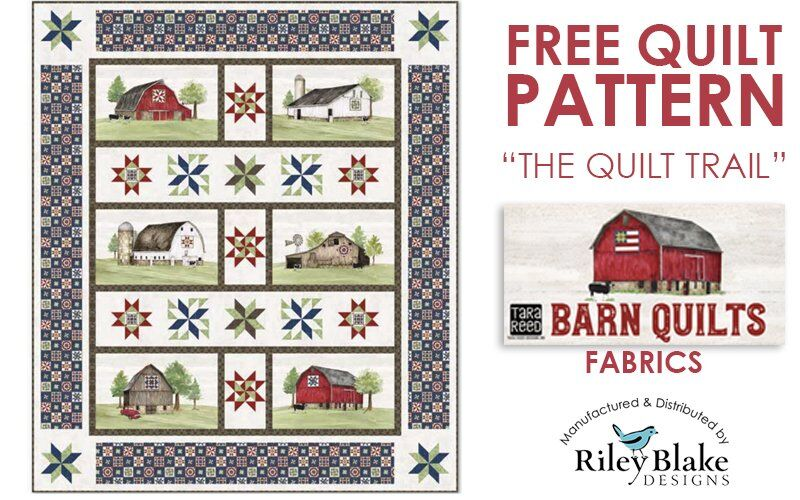 FREE PATTERN: The Quilt Trail
