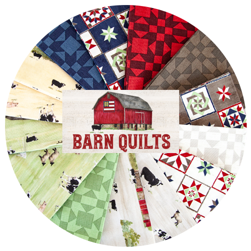 Barn Quilts fabric by Tara Reed for Riley Blake Designs