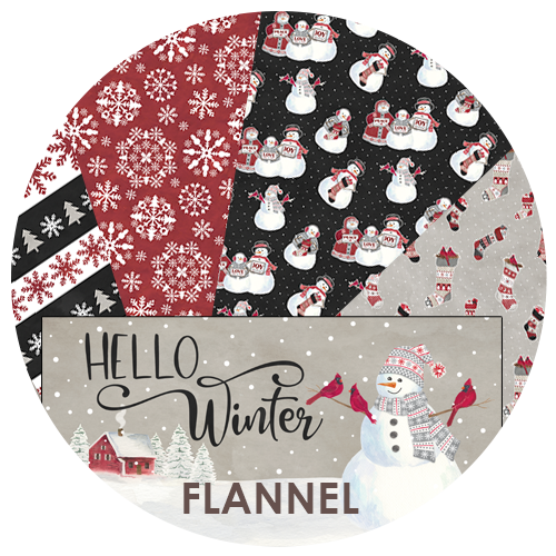 Hello Winter Fabric by Tara Reed for Riley Blake Designs