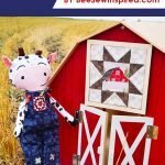 Cow Dolls from Barn Quilts fabric
