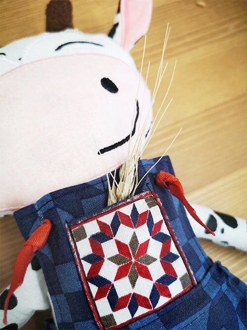 Cow Doll from Barn Quilts fabric