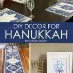 DIY Decor for Hanukkah