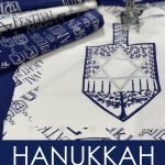 Hanukkah Sewing Projects - round up of ideas for sewing and crafting