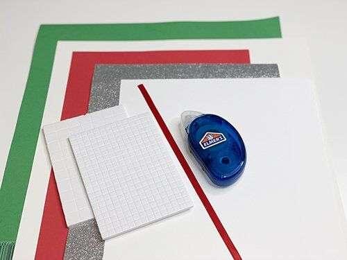 3D Santa's Magic Key Layered Paper Cut Design supplies